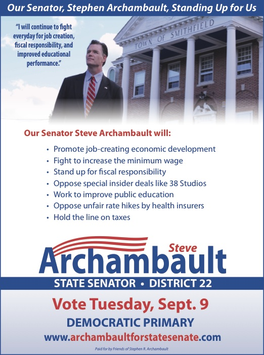 Archambault Full Page Ad